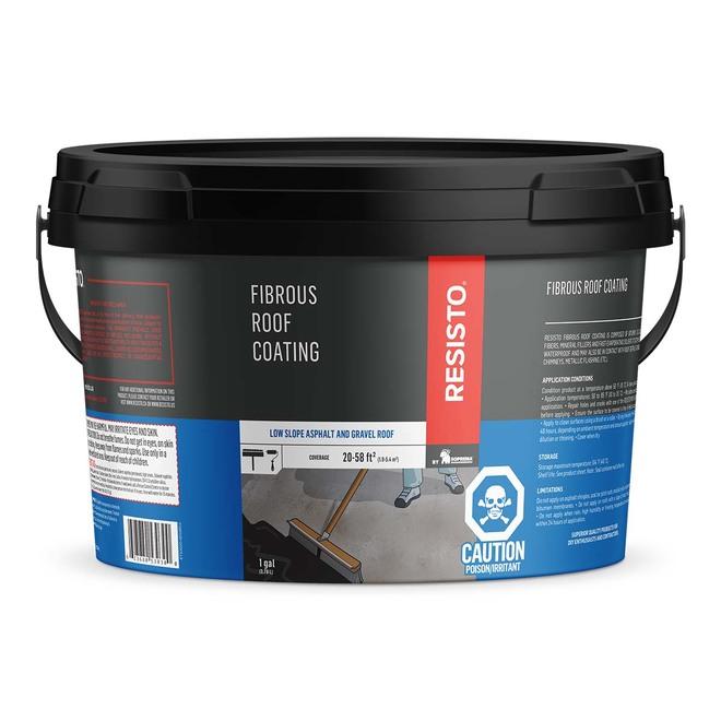 Fibrous Roof Coating - 3.78 L