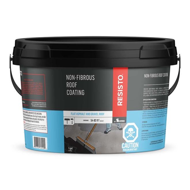 Non-Fibrous Roof Coating - 3.78 L