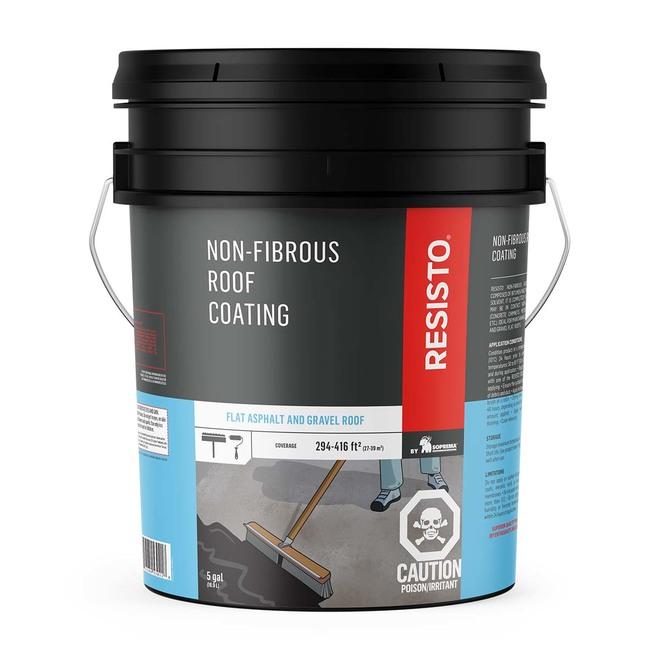 Non-Fibrous Roof Coating - 18.9 L