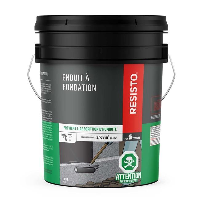 Enduit pour fondation sans fibre, 18,9 L