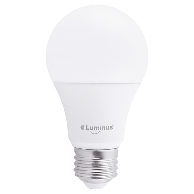 Ampoules DEL A19 9W, non dimmable, blanc chaud, pqt/10