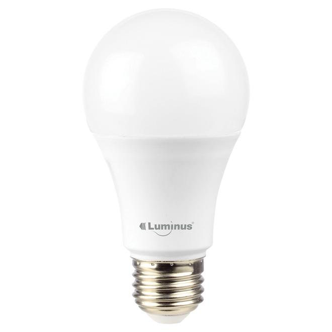 Ampoule DEL A19 9.5W, lumière du jour, 4/pqt