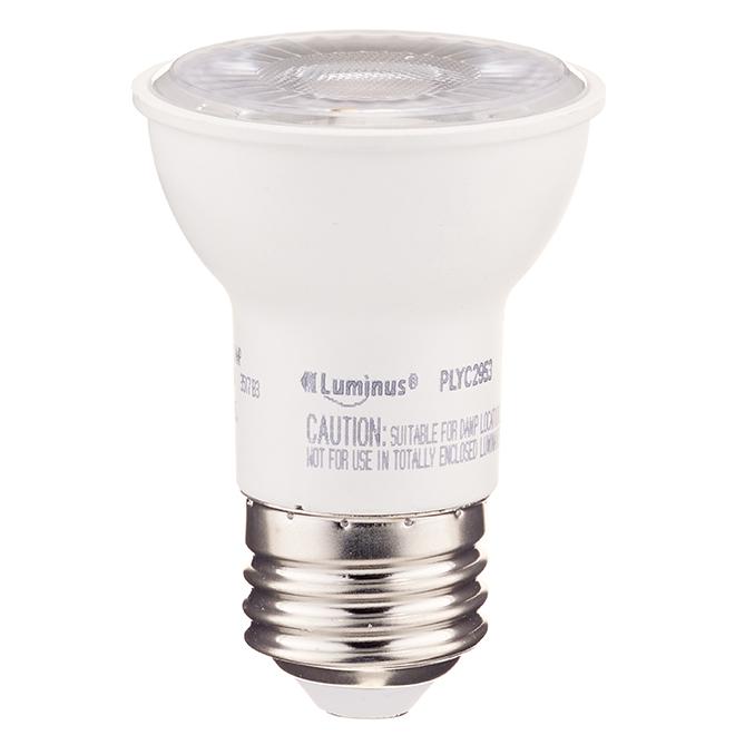 Ampoule DEL, PAR16, 7W, blanc doux