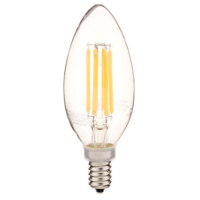 LED Bulb - B10-E12 - Warm White