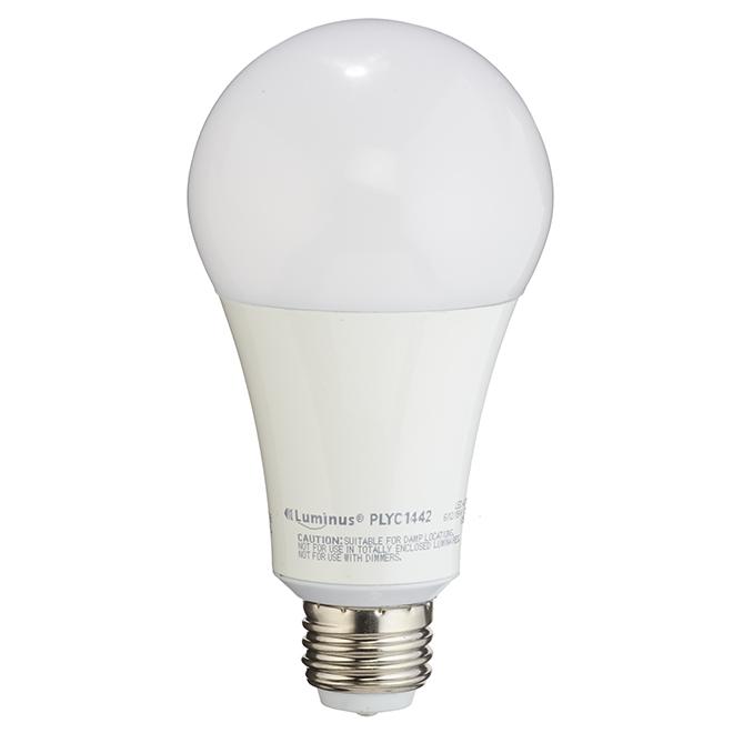 Ampoule DEL A21 6 W, 12 W, 19 W, 3 intensités, blanc doux