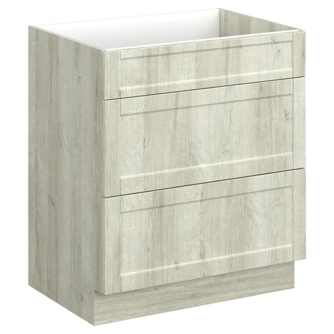 Arctiq Bathroom Vanity 2 Drawers 30 Beige