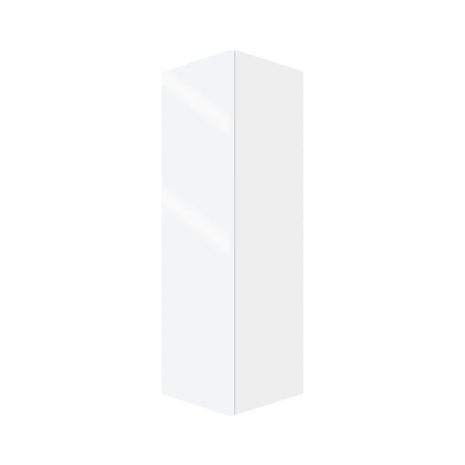 Eklipse Tall Wall Cabinet - 1 Door 12-in Topaz