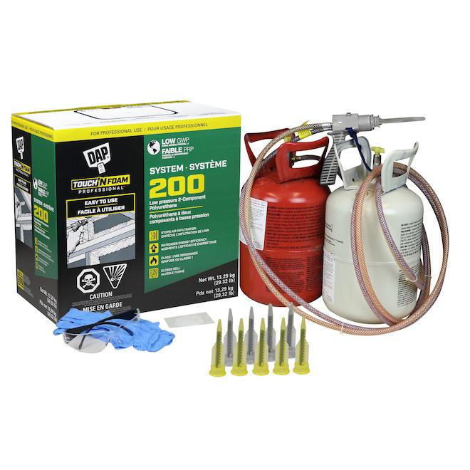 Touch'N Foam System 200 Polyurethane Insulation Foam Kit