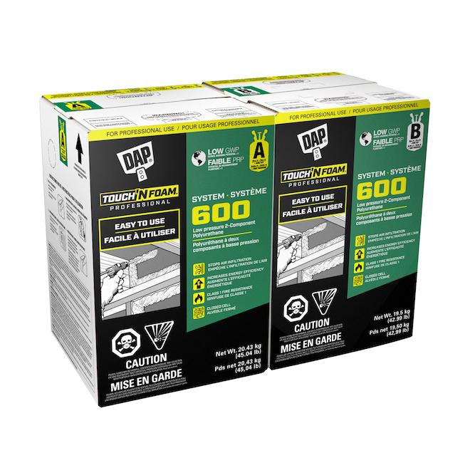 Touch'N Foam System 600 Polyurethane Insulation Foam Kit