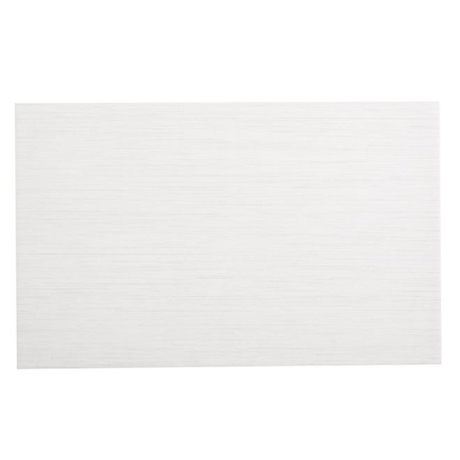 Ceramic Wall Tile - 25cm x 40cm - Cream - 17/Pack