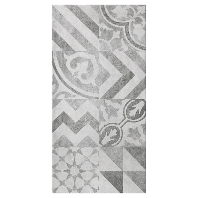 "Ceramic Tiles - 10"" x 20"" - 16/Box - Grey"