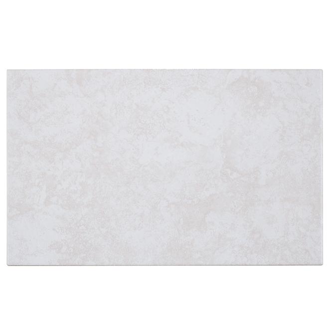 Mosaïque murale, 25 x 40 cm, beige lustré, 20/bte