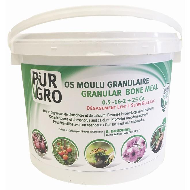 PUR GRO Granular Bone Meal - 0.5-16-2 - 3.5 kg