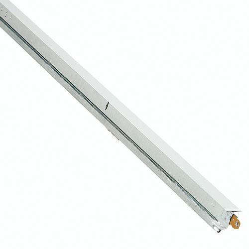 Té transversal commercial Plafonds Up, 1,5 po x 4 pi, acier, blanc