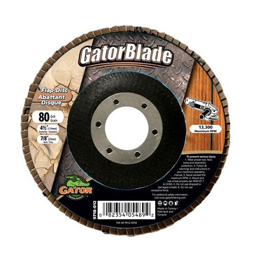 """Sanding disk- 4 1/2""""x7/8"""" - Grit 80"""