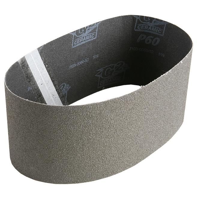 "Sanding Belt - 4"" x 24"" - 80 Grit"