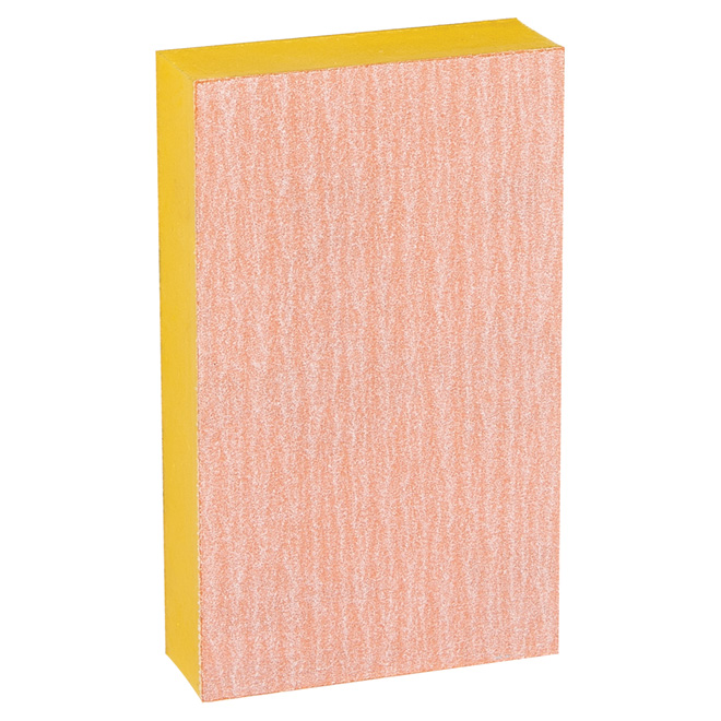 Éponge à poncer supérieure, grain 180, 3po x 5po