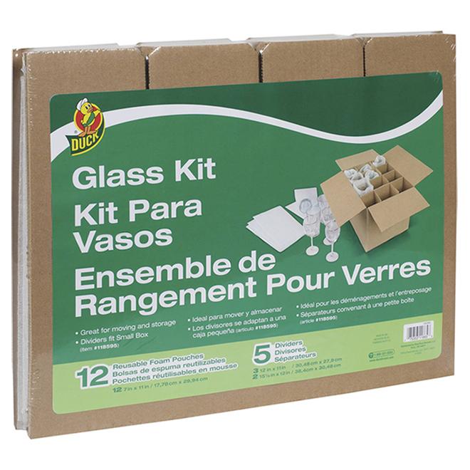 Rangement Duck pour verres, 12 po x 16 po x 12,5 po