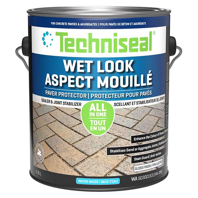 Colour Boost Concrete Paver Protector - 3.78 L - Clear