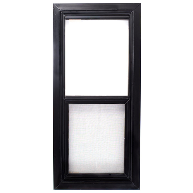 PVC Shed Window - Vertical Hung - 17'' x 35''