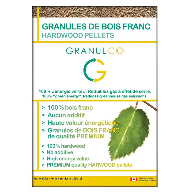 Granulco Hardwood Pellets - 40 lb