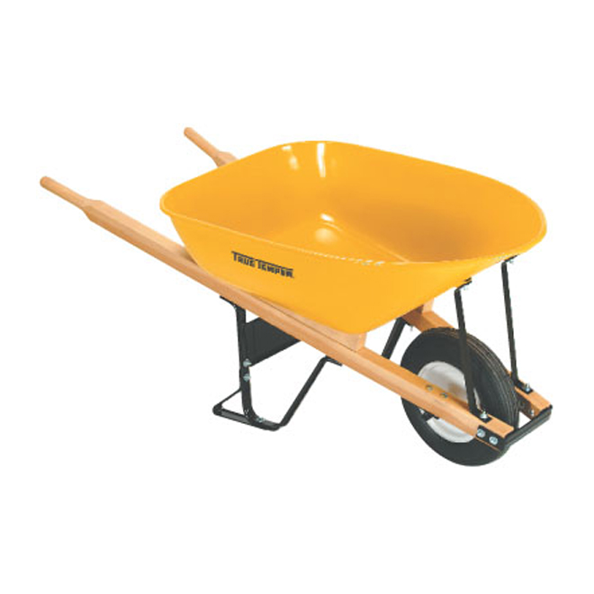 Heavy Duty Wheelbarrow for Contractor - 6 cu.ft.