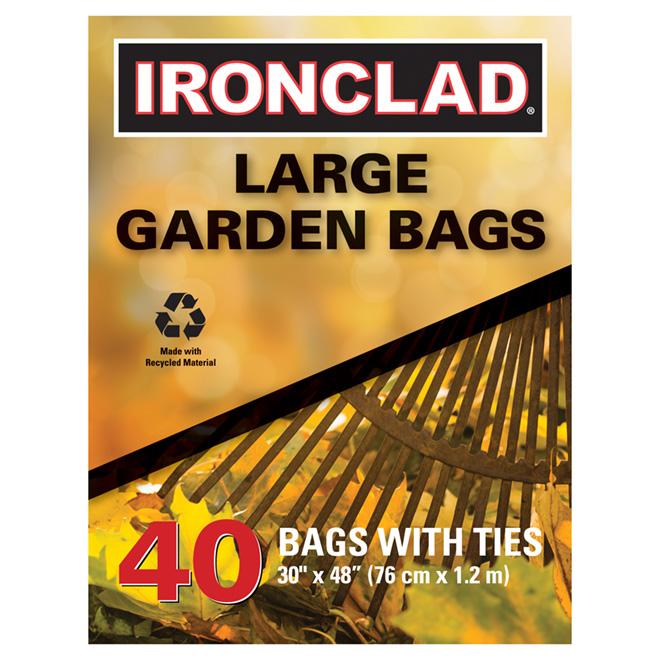 Garden Bags - Box of 40