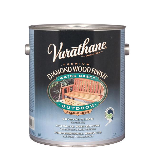Exterior wood varnish