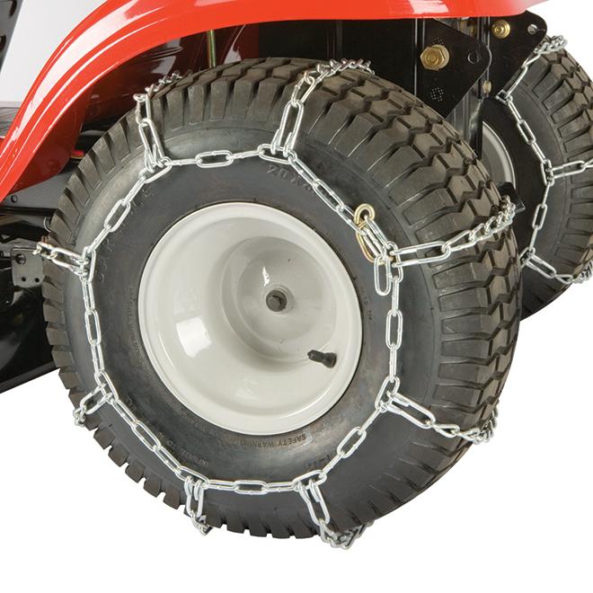 "Tractor Rear Tire Chain - 20"" - Metal - 2/Pk"
