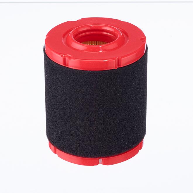 Foam Air Filter - Powermore Motor 547 cc - Red and Black