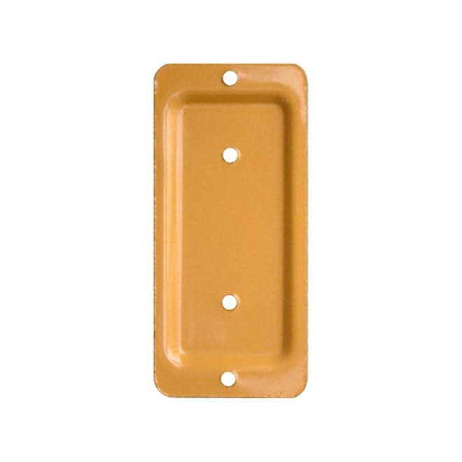 "Anchor Plate - 2""x3"" - Cedar color"