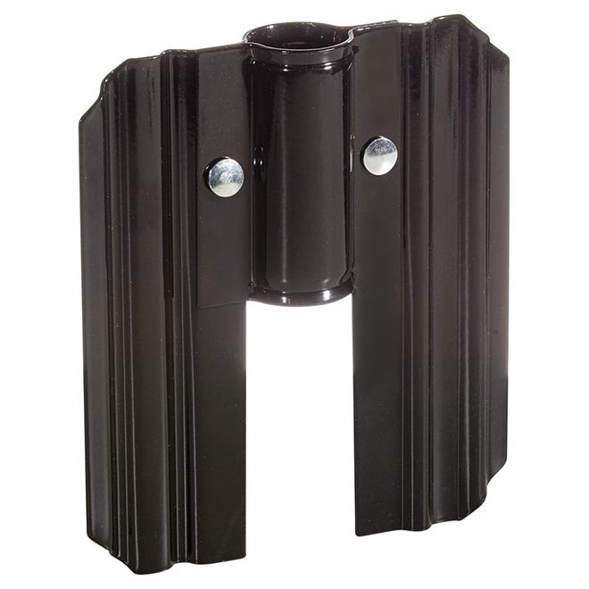 Stabilisateur latéral de pieu Pylex, acier, noir