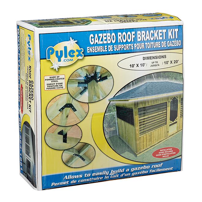 Gazebo Roof Bracket Kit - 10' x 10' - 20'