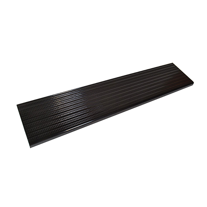 "Aluminum Stair Treads - 11"" x 42"" - Black"