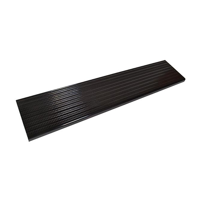 "Aluminum Stair Treads - 11"" x 48"" - Black"
