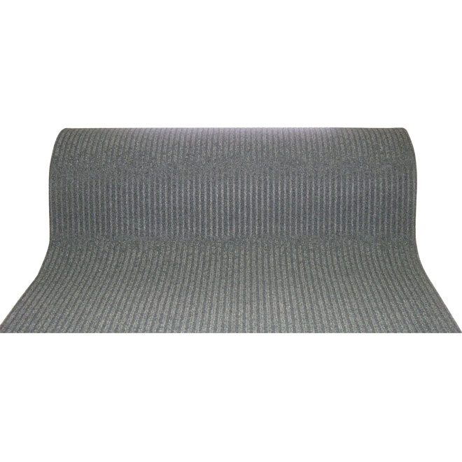 "Utility Carpet Runner - ""Siamese"" - 36"" x 82' - Grey"