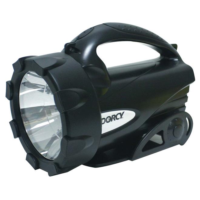 LED Lantern - Swiveling Base - Black