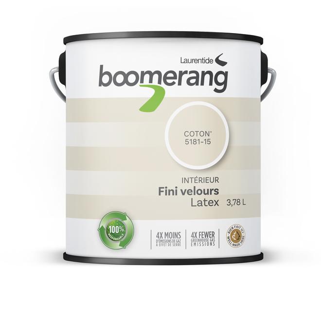 boomerang peinture d 39 int rieur recycl e fini velours. Black Bedroom Furniture Sets. Home Design Ideas