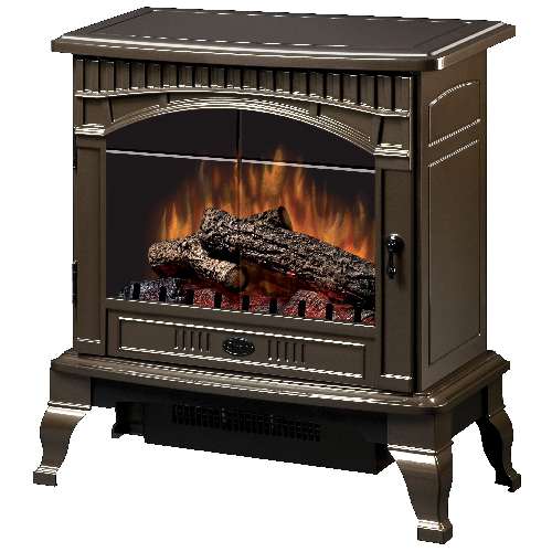 Traditional Electric Stove - 1500 W/4900 BTU - Bronze