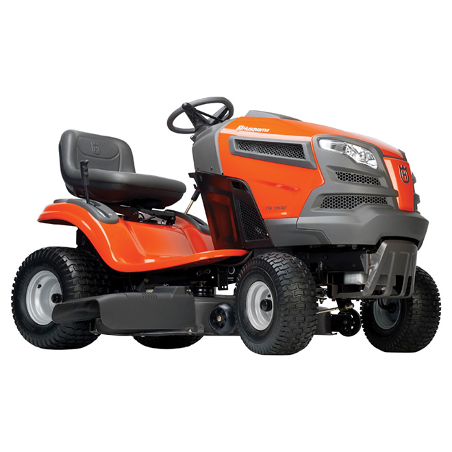 "Gas-Powered Lawn Tractor - 19 HP - 42"" - Orange"