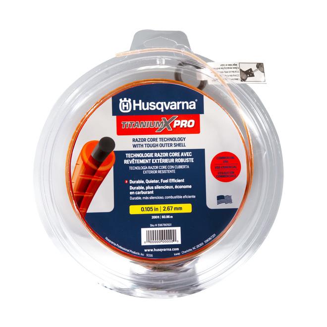 """Husqvarna Trimmer Line - 200' x 0.105"""" - Orange"""