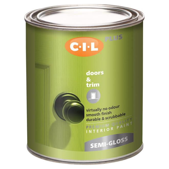 CIL Latex Interior Paint 27306.504  Réno-Dépôt