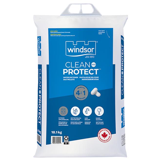 Sel adoucisseur d'eau Windsor Clean and Protect, 18,1 kg
