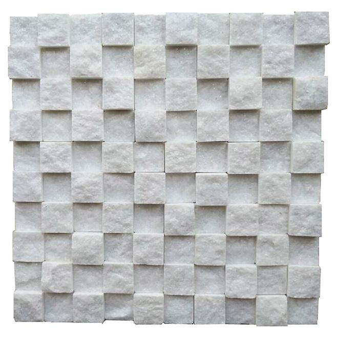 Pierres décoratives « Cubix », 12 po x 12 po