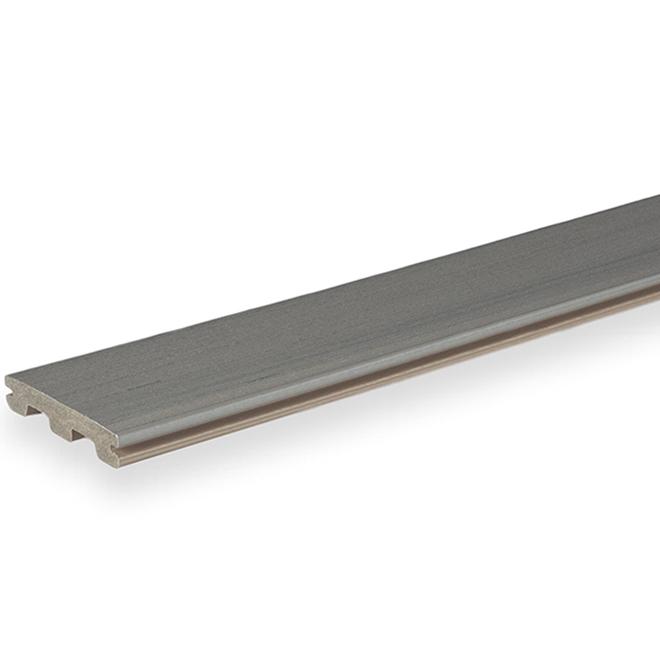 TimberTech Composite Deck Board - 12' - Sea Salt Grey