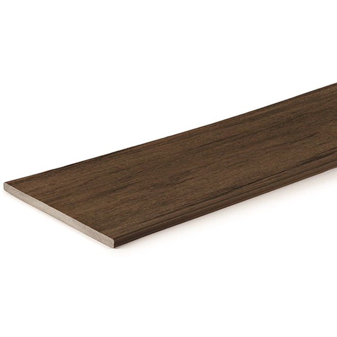 Reserve Pro Fascia Composite Deck Board - 12' - Dark Roast