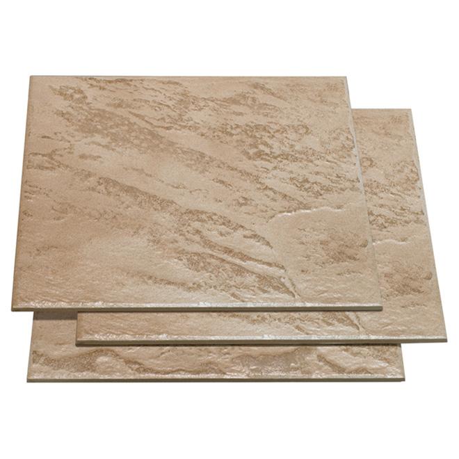 Carreaux de porcelaine pour plancher «Castelli»