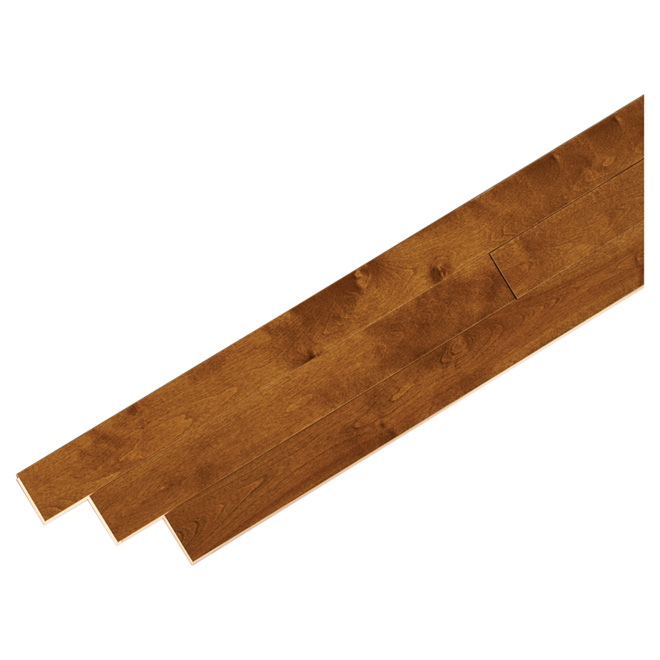 Birch Hardwood Flooring - 20 sq. ft - Gunstock