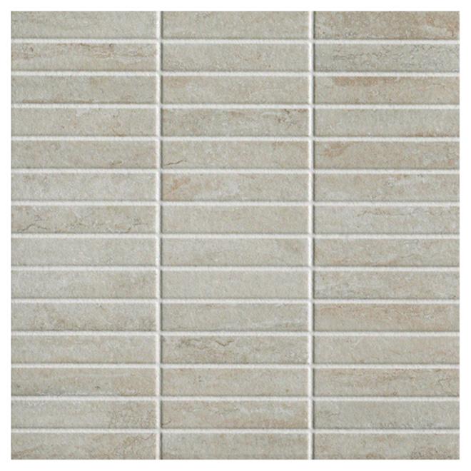 """Mosaic Ceramic Tile - 13.39"""" x 13.39"""" - 14 Box"""