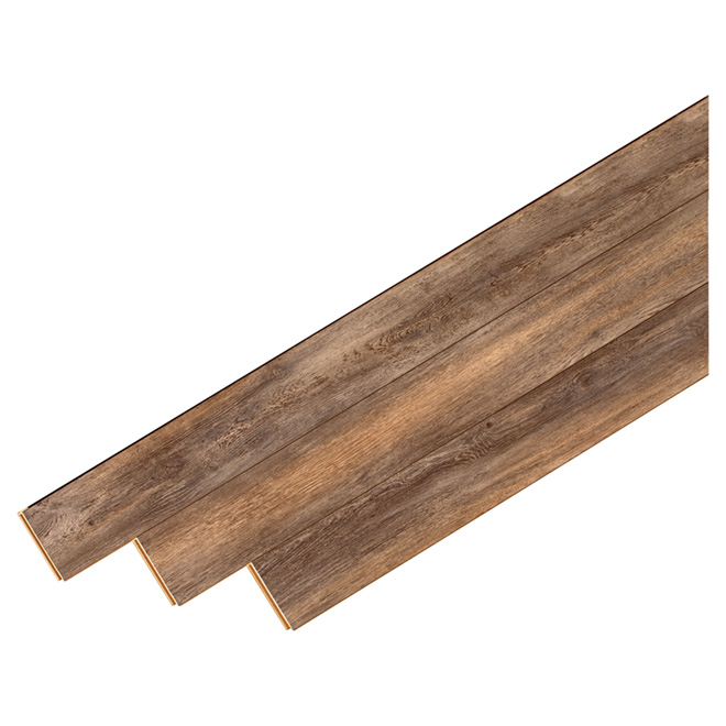 Plancher stratifié en HDF, 12 mm, Chêne Modena